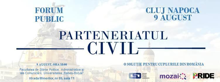 Dezbateri publice naționale privind parteneriatul civil