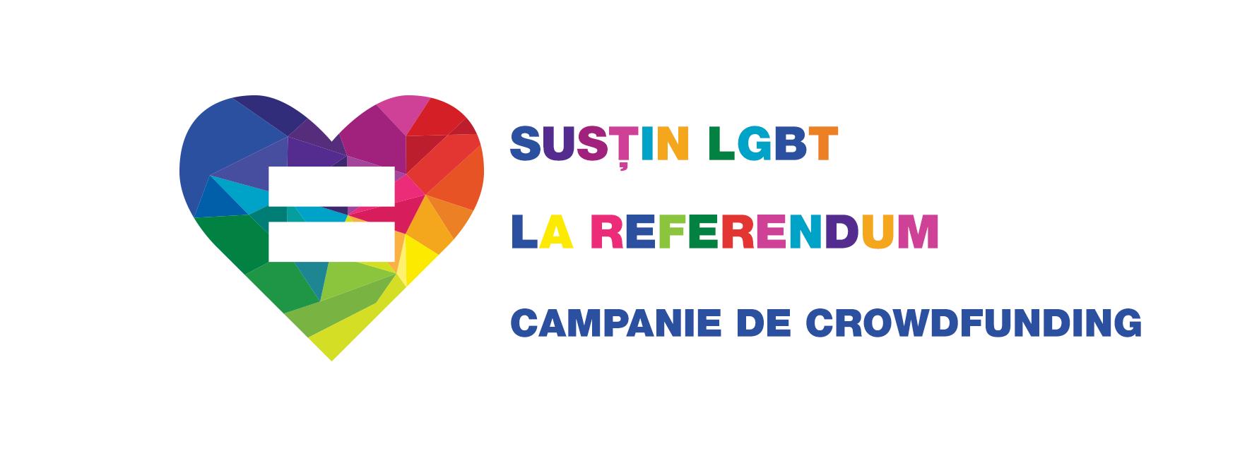 Susțin LGBT la referendum: crowdfunding