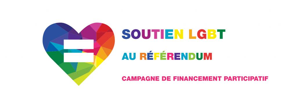 Je soutiens la communauté LGBT au référendum: crowdfunding