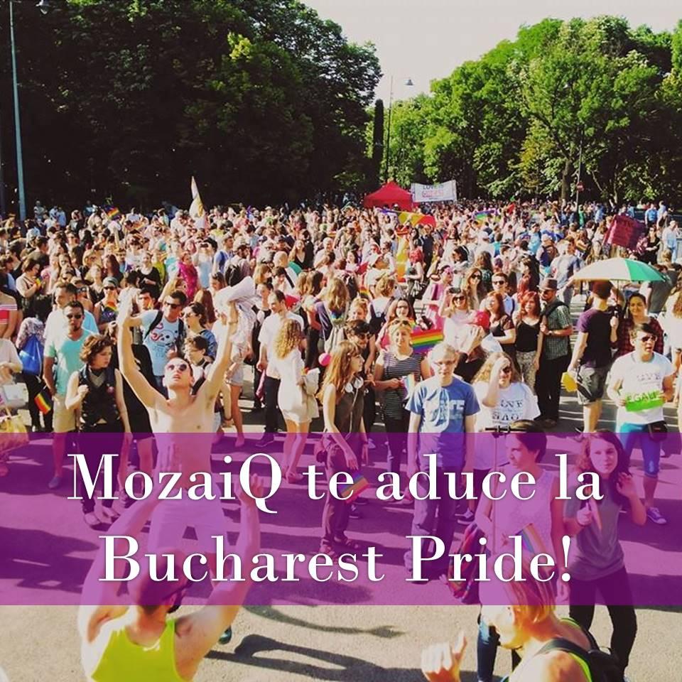 MozaiQ te aduce la Bucharest PRIDE 2018!