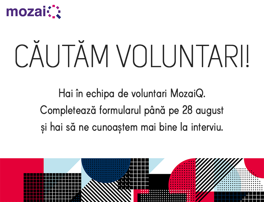 MozaiQ caută voluntari!