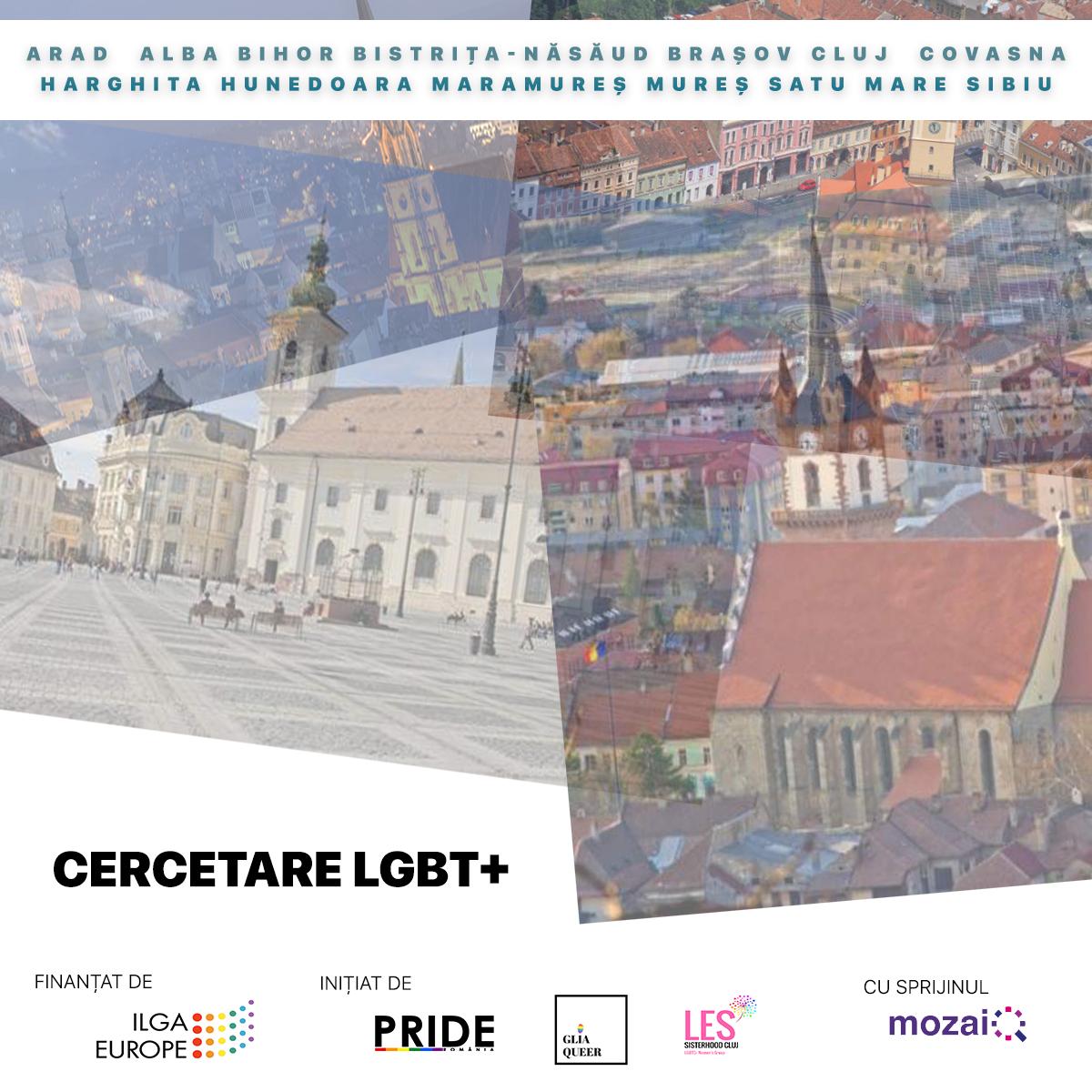 Cercetare privind experiența LGBT+ din Transilvania